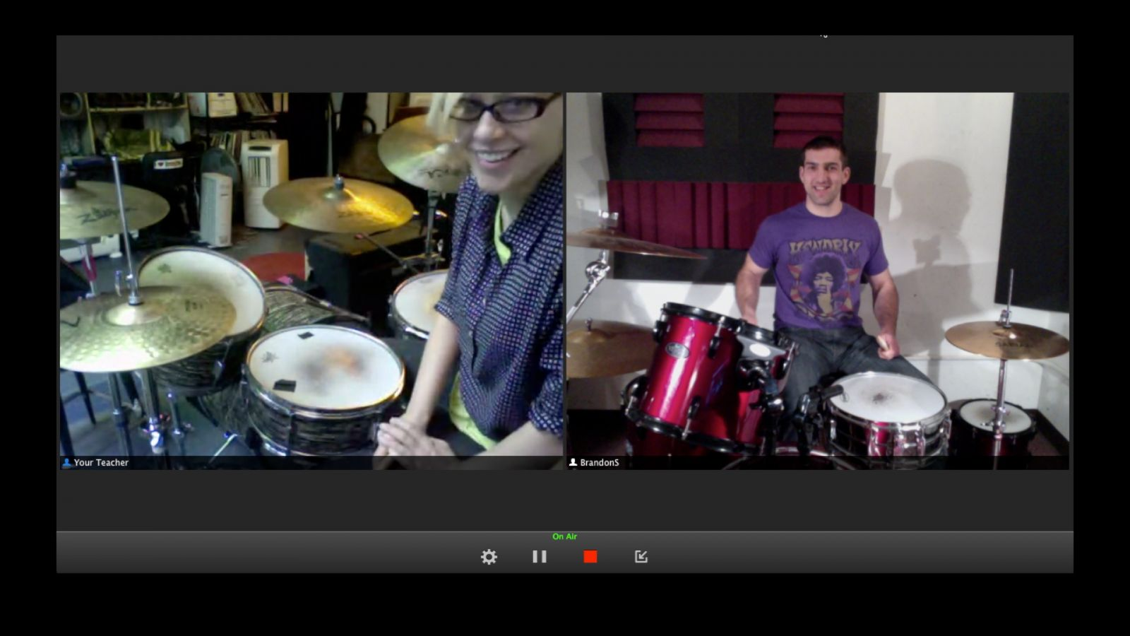 Sara Landeau, LessonFace Online Drums Teacher