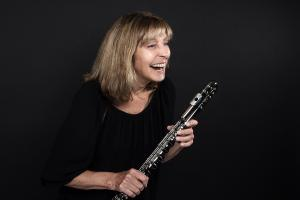 Ali Ryerson with Her Flute