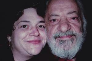 Julie Landsman with Carmine Caruso
