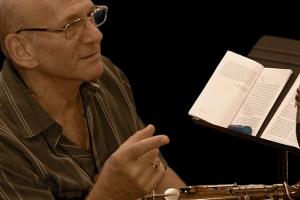 Liebman teaching the master class