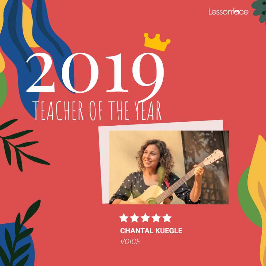 Lessonface 2019 Teacher of the Year