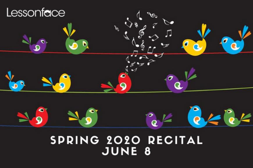 Lessonface's 3rd annual spring recital a success
