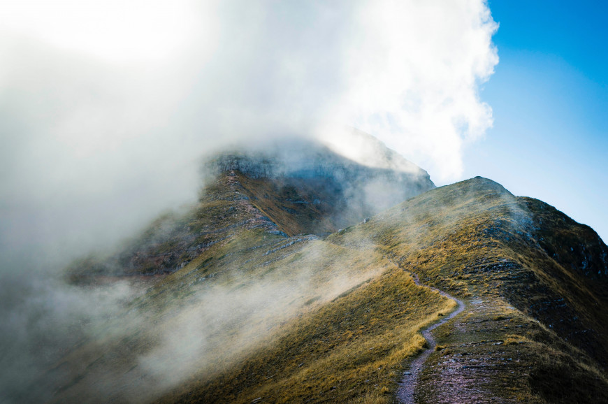 Cloudy summit