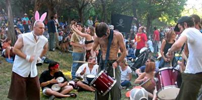 Lessonface.com drum circle