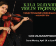Kala Ramnath Singing Violin Group Class