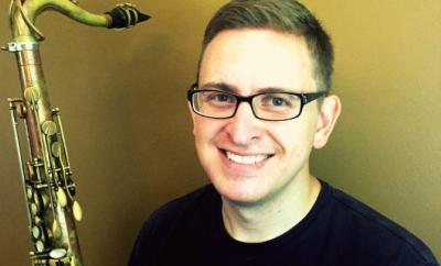 Ben w/ saxophone