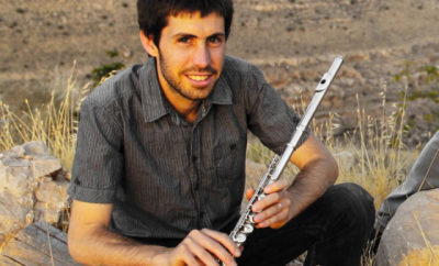 Noam Goldstein teaches live online flute and improvisation lessons at Lessonface