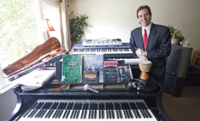 Anthony Aibel teaches live online keyboard, piano, and violin lessons at Lessonface.com