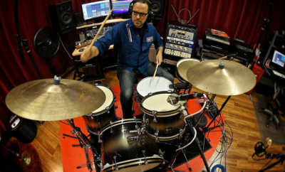 Drum lessons with Dylan Wissing of Indie Studio Drummer