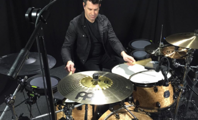 Johnny Rabb-Educator, Clinician, Author, Drummer for Collective Soul