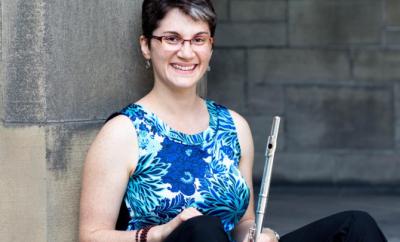 Meg Griffith flute yoga