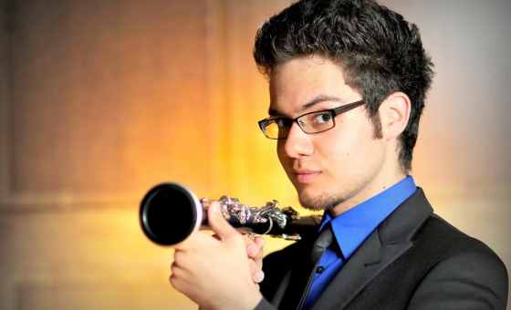 Clarinetist and graduate of the prestigious Oberlin Conservatory of Music