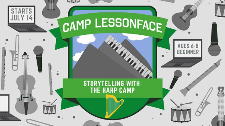 Storytelling with the Harp Camp