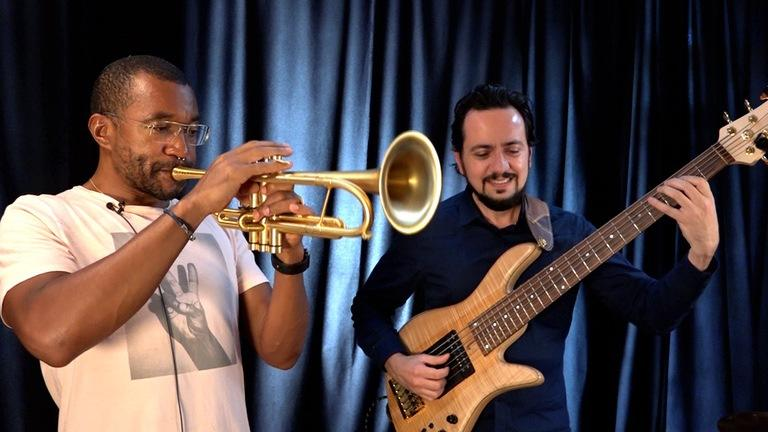 Trumpet Practice with Antoine Drye