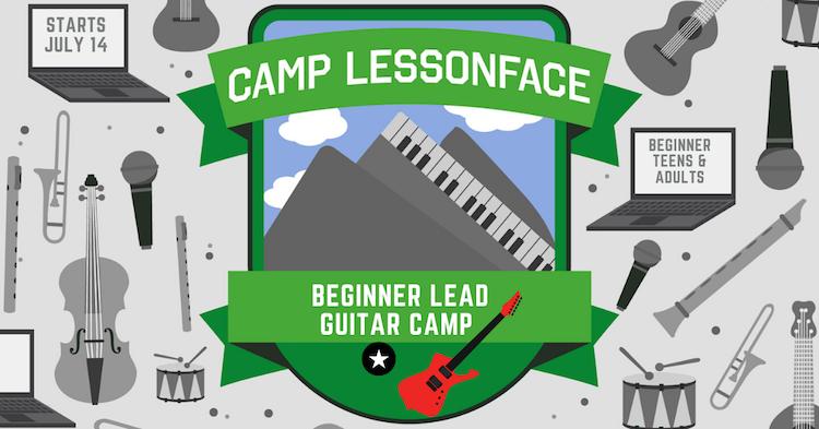 Beginner Lead Guitar Camp