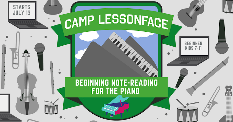 Beginning Note-Reading for the Piano Camp