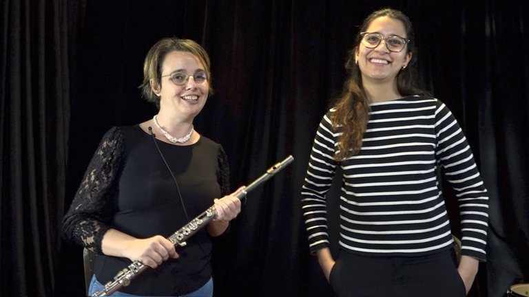Introduction to Flute with Celina Charlier