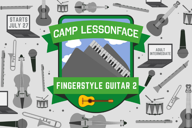 Fingerstyle Guitar Summer Class Level 2