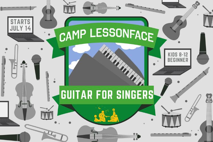 Beginner Guitar for Singers Camp