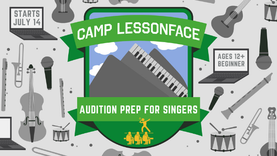 Audition Prep for Singers Camp