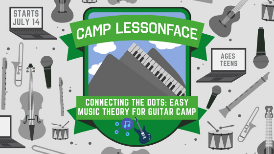 Connecting the Dots: Easy Music Theory for Guitar Camp