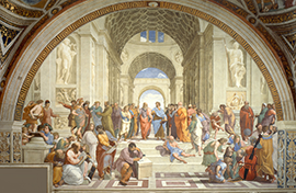 School of Athens promo for forum